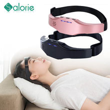 Release Stress Schlaf Therapie Gerät SleepingElectric Kopf Massager Schlaf Monitor Migräne Relief Massager Schlaflosigkeit Therapie