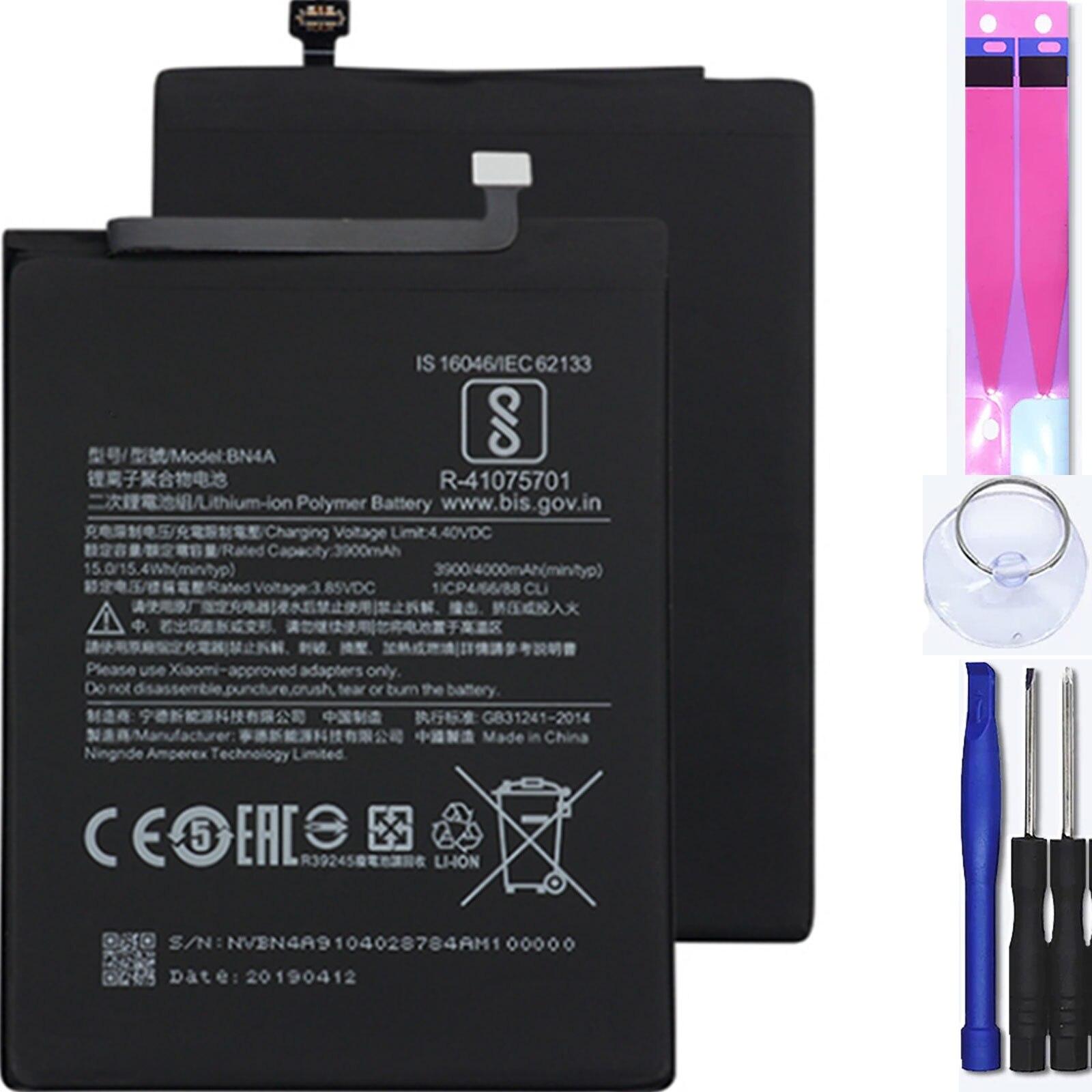 Внутренняя батарея для Xiaomi Redmi Note 7, Mpn Оригинал: Bn4A
