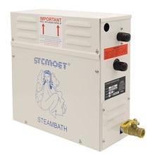 3KW/4.5KW Generator pary Sauna parowa urządzenie do kąpieli dla domu Sauna SPA fumigacji maszyna 220V/380V z sterownik cyfrowy