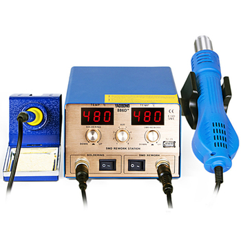 Dual digital display Soldering Station Smart magnetic sleep Iron Repair Cyclone Stand Yaogong 886D Mobile Phone Repair
