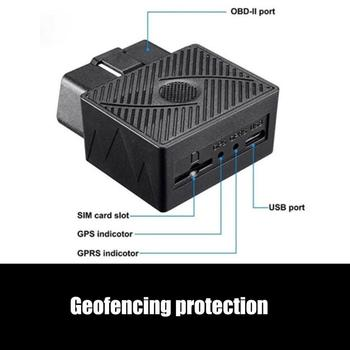 Obd / Obd2 Gsm Car Gps Tracker Gprs Lbs / Gps Position Tracking Locator Real Time Tracking Geo -Fence Overspeed Alarm 3