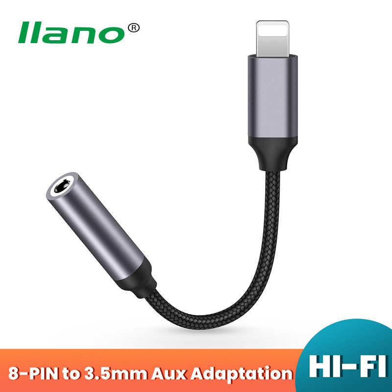 Adaptador de Auriculares para iPhone 12 a 3,5mm AUX Adaptador de Audio Conector Divisor de Cable para iPhone 7//8//X//11//12 Conector de Auriculares de 3,5mm Soporte de Dongle para Todos los iOS Blanco