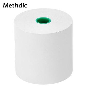 цены Methdic 10 Rolls 80mm*80mm Thermal Cash Register Printer  Paper Thermal Receipt Paper Roll