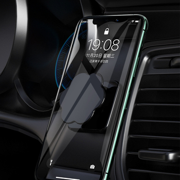 In Stock! Magnetic Car Phone Holder Stand For Phone In Car Air Vent GPS Universal Holder For Xiaomi Iphone X Xs Samsung Dropship image