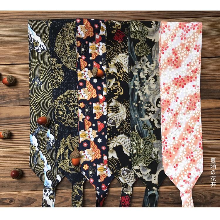 Japanese Style And Wind Kimono Harajuku Bathrobe Chinese Clothing Corset Nation Literature Art Retro Wide Girdle Belt Women's