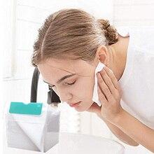 Хлопковая ткань для лица, полотенце для лица, ватные диски для снятия макияжа, не раздражающие салфетки BV789