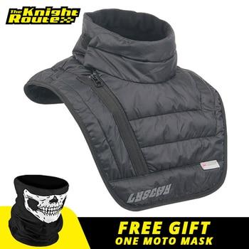 LYSCHY Autumn Winter Motorcycle Warm Scarf Balaclava Waterproof Windproof Face Mask Moto Neck Cloak Face Shield For Men Women