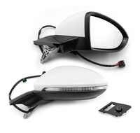 Genuino para Golf 7 mk7 Auto espejo plegable Espejos laterales eléctricos plegables con luz 5GG 857 507 A y 5GG 857 508 A