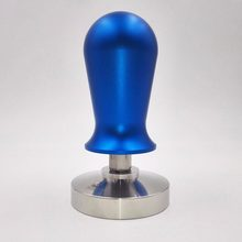 51/58mm Espresso Coffee Tamper Stainless steel Constant Pressure Calibrated Barista Flat Base Coffee Bean Press Tamper