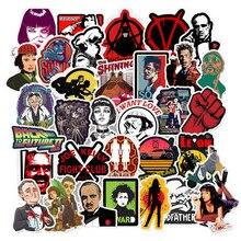 10/50pcs adesivi per film classici per bagagli Laptop Art Painting Kill Bill Pulp Fiction Poster adesivi giocattolo da Skateboard impermeabile