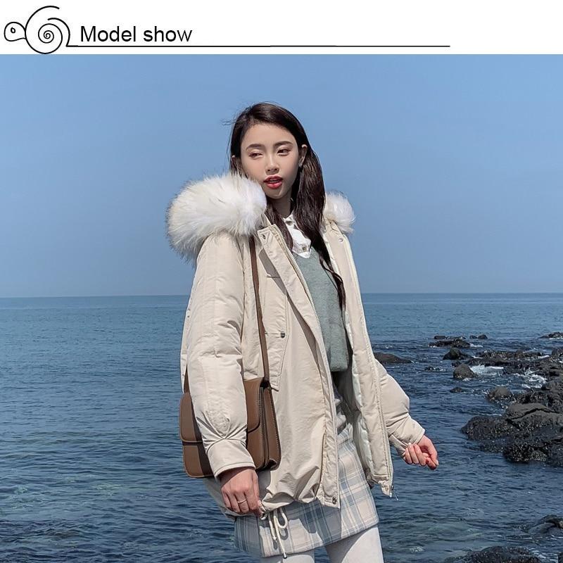 New Arrival 2019 Winter Jacket Women Cotton Padded Outwear Female Coat_A2_3