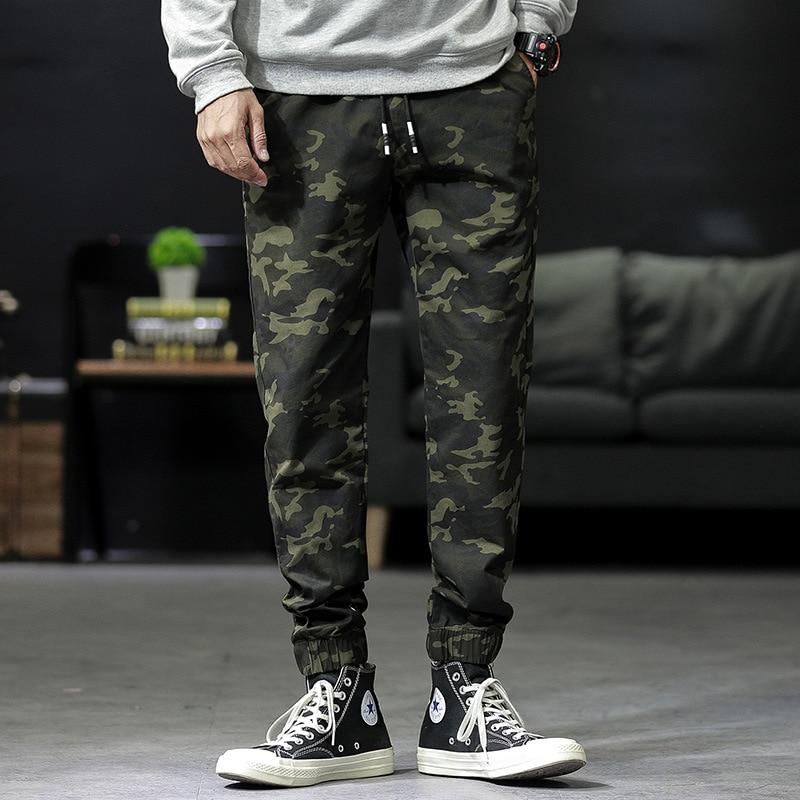Pants Men Spring And Autumn Korean-style Trend Loose-Fit Athletic Pants Students Versatile Harem Pants Beam Leg MEN'S Casual Pan