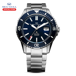 seagull  automatic mechanical watches men fashions Business watch Synthetic sapphire crystal 200m Water-proof watch 816.523