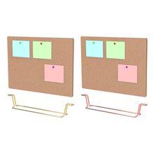Натуральный сообщение пробковая доска экологически Памятка Pinboard уведомление дисплей поставка N0HC