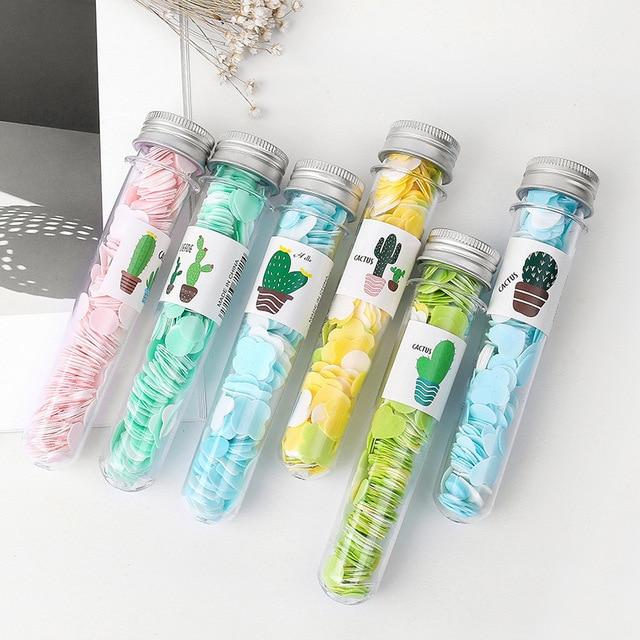 1 Pc Portable Mini Soap Tablets Flower Paper Soap Body Hand Washing Bath  Body Washing Bath  Travel Accessory Send Random Colors 2