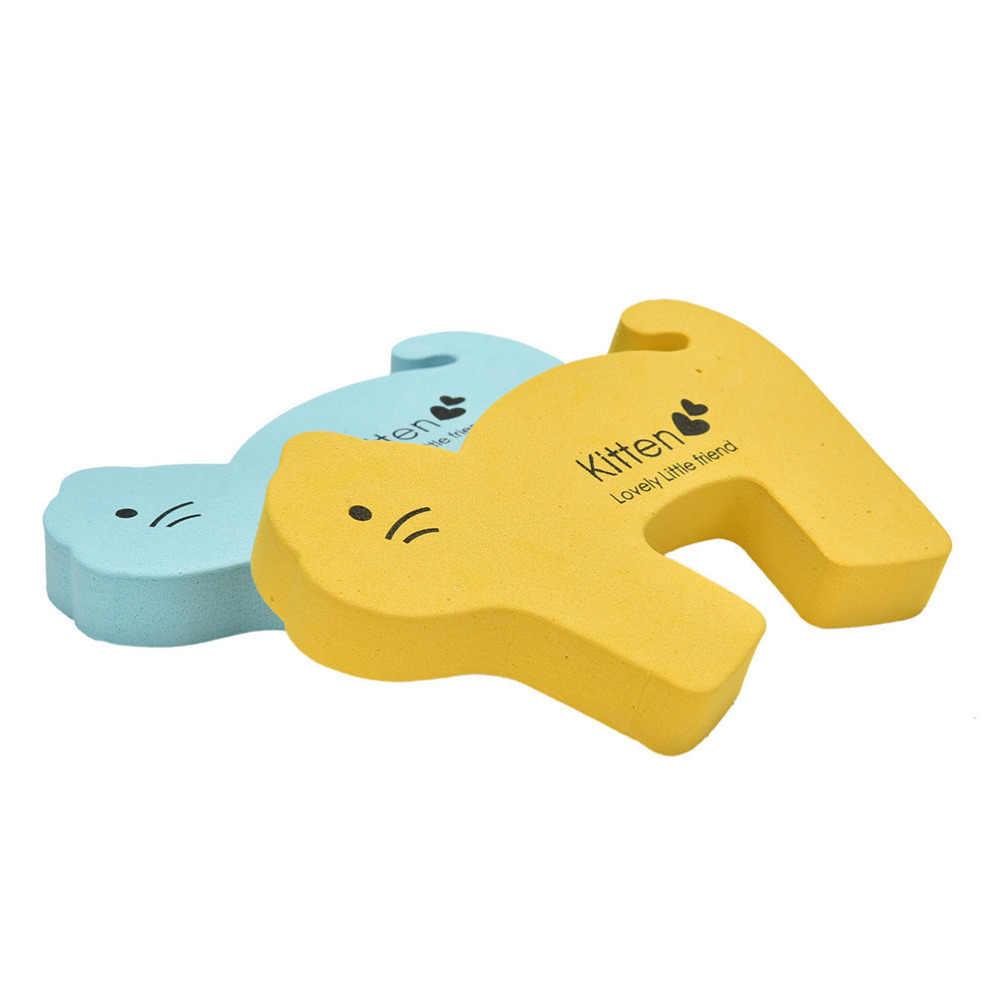 1Pc Animal Bonito Batentes de Porta Guarda de Segurança Dedo Proteger Criança Grosso Crianças Dos Desenhos Animados Do Bebê Jammers Parar Porta Stopper Titular Bloqueio
