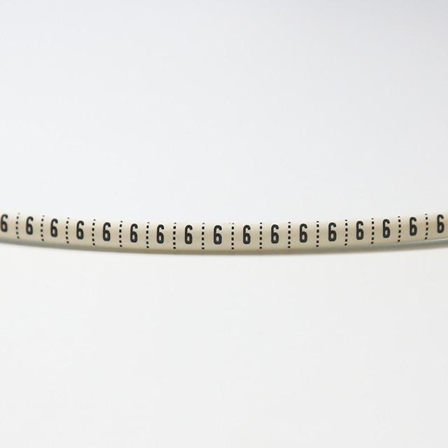 Пластиковые термоусадочные трубки маркеры для кабелей Номер