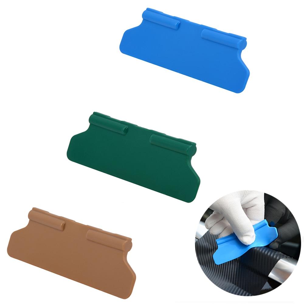FOSHIO Carbon Fiber Vinyl Wrap Film Squeegee Different Hardness Wrapping Scraper Sticker Remover Car Accessories Window Tint New