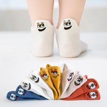 Kids Socks Newborn Baby-Girls Multicolor Cotton Summer Spring Expression Cartoon Boy