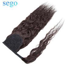 Sego 80 г 95 Кукуруза кудрявая наращивание волос на шнурке конский