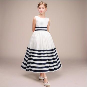80-160cm Height Girls Party Dress Kids Girl Wedding Birthday Ball Gown Princess Dress Girls Ankle skirt Costume