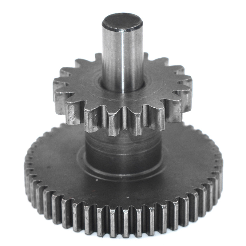 Dual Gear For GY6-150CC Engine Start Motor Fit For GY6 ATV Quad
