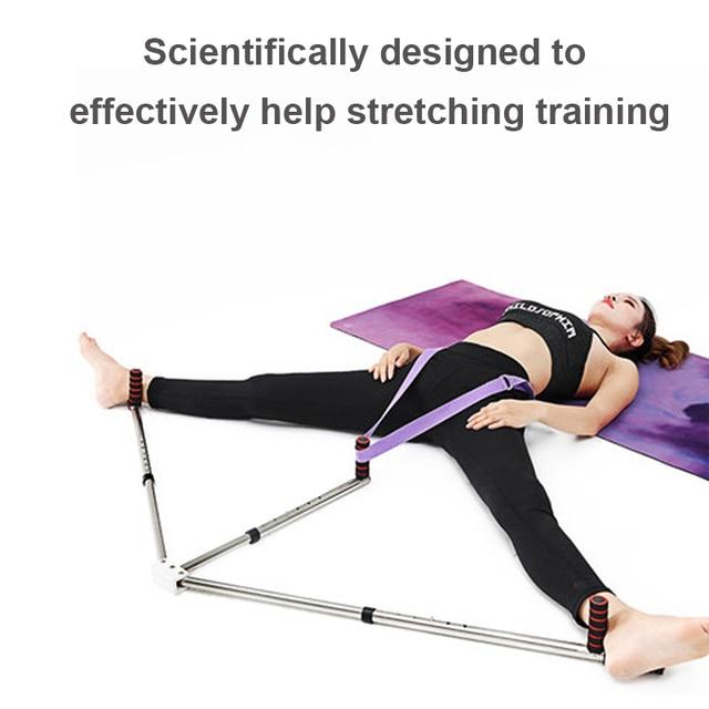 3 Bar Leg Stretcher Adjustable Split Stretching Machine Stainless Steel Home Yoga Dance Exercise Flexibility Training Equipment 3