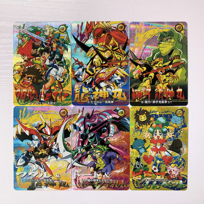 6pcs/set TOYCARD Majin Eiyuuden Wataru Toys Hobbies Hobby Collectibles Game Collection Anime Cards