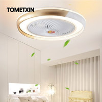 50 cm APP smart ceiling fan with light remote control fans lights ventilator lamp air cool bedroom decor modern