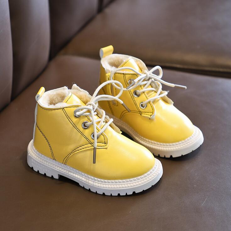 Unisex Kid Boots Toddler Baby Girl Kids Baby Shoes Booties Anti-slip Warm Short Boots