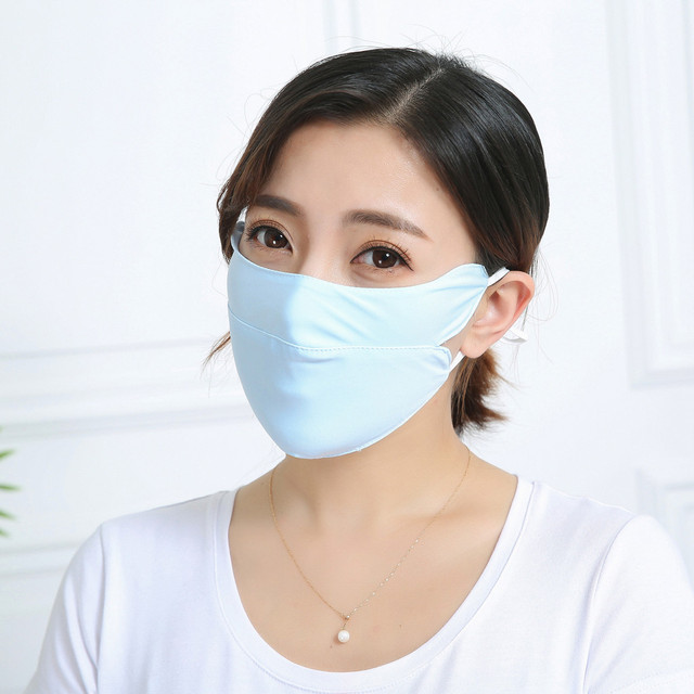 Adult Cotton PM2.5 Mouth Mask Cute Solid Anti Haze Dust Mask Windproof Face Flu Washable Fabric Cloth Respirator @A30 1