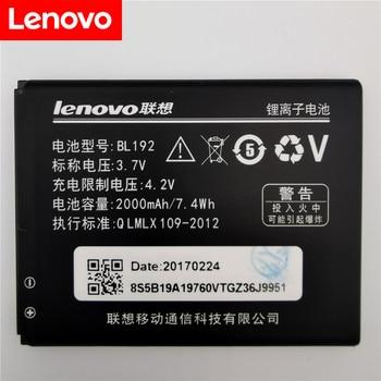 3.7V 2000mAh BL192 For Lenovo A328 A328T A526 A750 A529 A560 A680 A590 A300 A388T A505E Battery