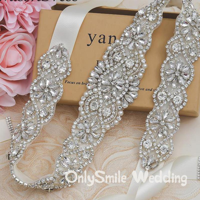 Bridal Belt Crystals Bridal Wedding Accessories Belts For Women Wedding Dress Sash Belt Of The Bride