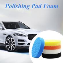 5PCS/Set 3/4/5/6/7 Inch Buffing Polishing Sponge Pad Foam Car Kit For Polisher Buffer