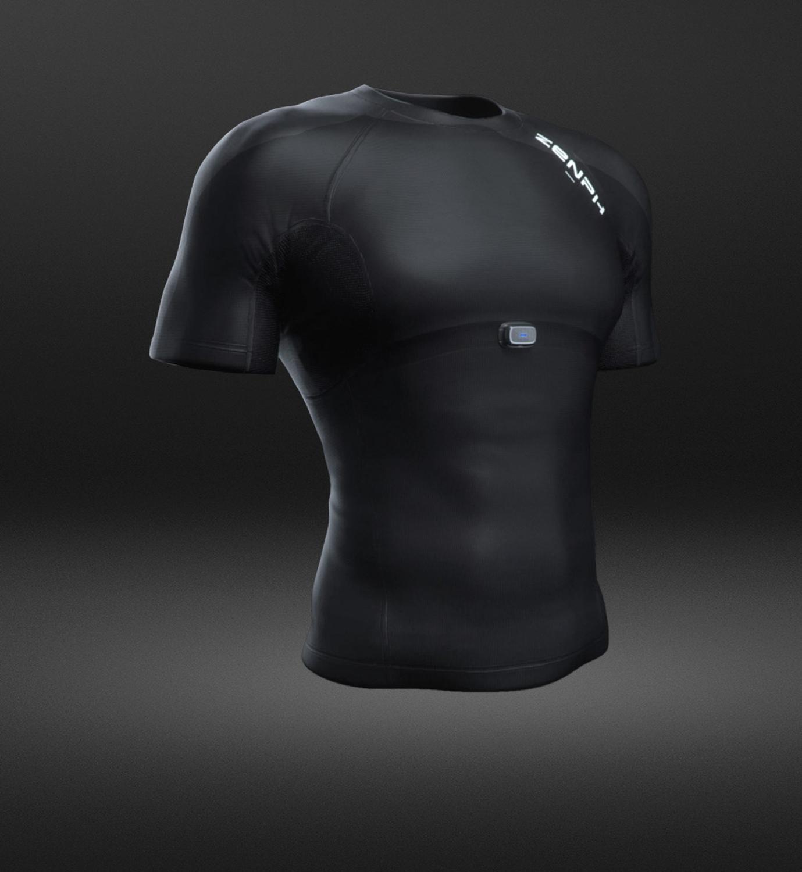 ZENPH Мужская умная спортивная одежда Высокая эластичность быстросохнущая летняя спортивная форма Беговая футболка мужская с коротким рукав... - 3