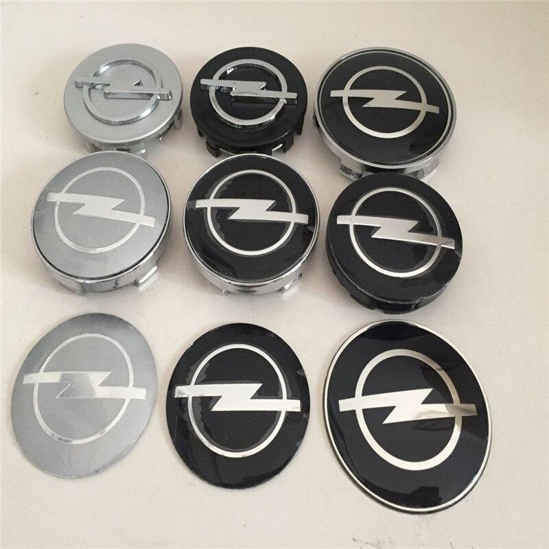 4 шт. 56 59 60 65 68 Opel Автомобильная эмблема колпачки на ступицу колеса колпачки на значок для Astra Mokka Insignia Zafira Corsa Tigra