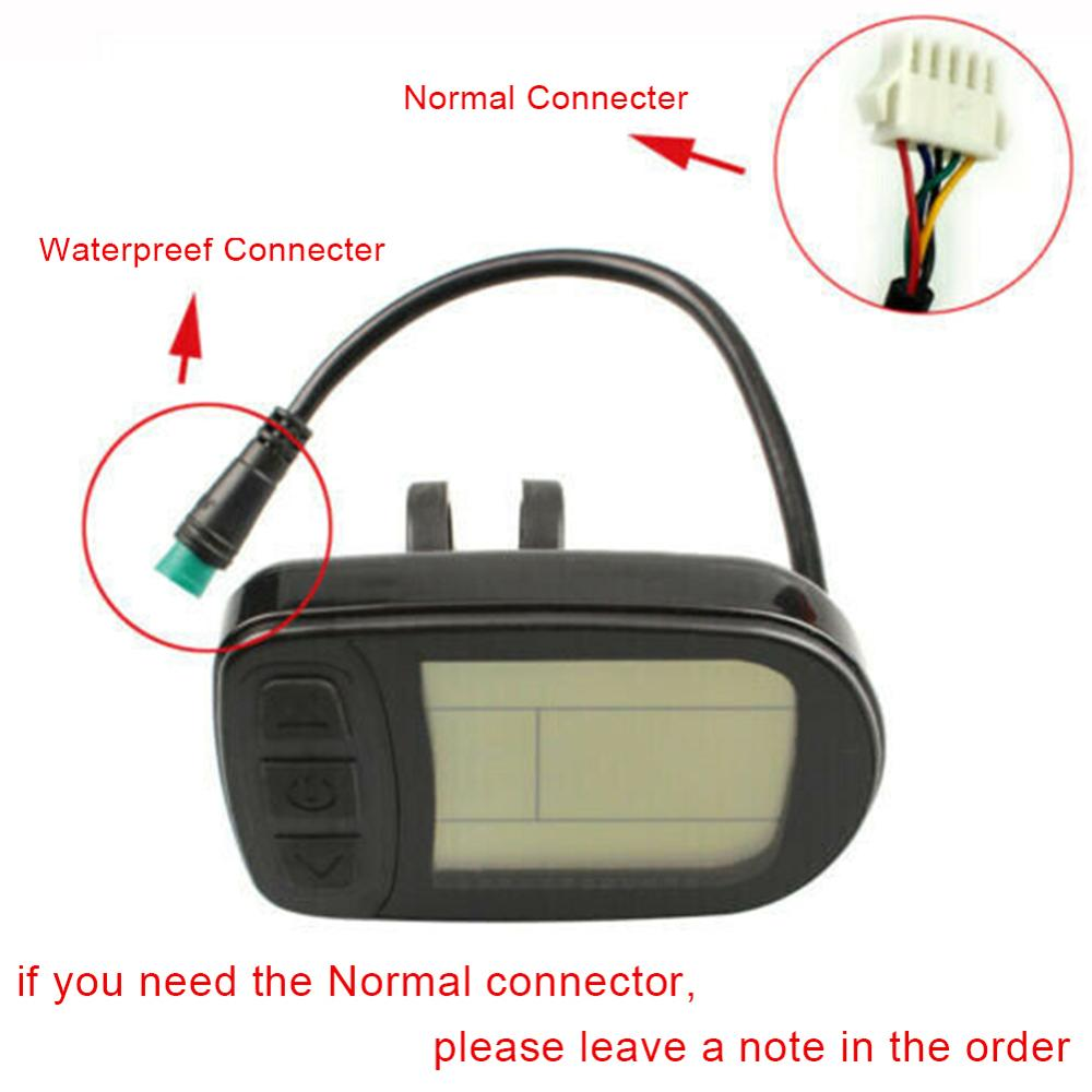 Bicycle Conversion Accessories KT-LCD5 E-bike Meter Display