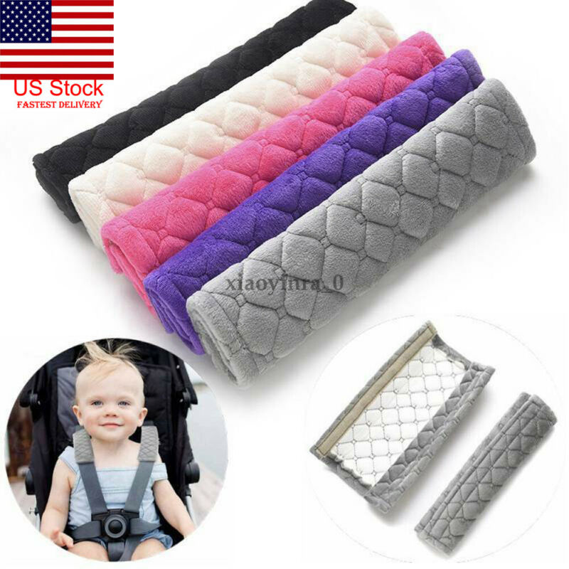 2Pcs Car Kids Safety Strap Cover Harness Pillow Shoulder Seat Belt Pad Child Cushion Auto Interior Accessories Styling