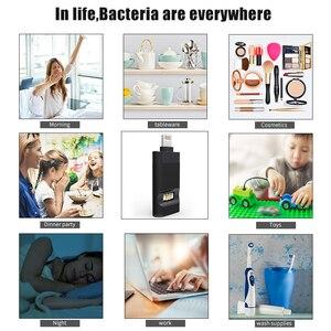 Image 5 - Luz uv do anti vírus do líquido de limpeza uv da escova de dentes da varinha do desinfetante do curso pessoal portátil da luz uv do esterilizador usado para o telefone celular do iphone