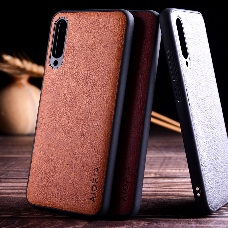 case for <font><b>xiaomi</b></font> <font><b>mi</b></font> <font><b>A3</b></font> <font><b>funda</b></font> luxury Leather Vintage litchi pattern skin capa with hard cover for <font><b>xiaomi</b></font> <font><b>mi</b></font> <font><b>A3</b></font> case image