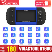 Vdiagtool VT600 OBD2 Automotive Scanner Tool Motor Abs Srs Epb Oil Service Reset Injector Codering Obdii Auto Diagnostische(China)