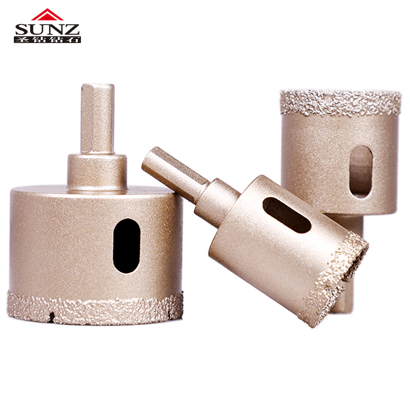 Diamond Brazing Bit  Drill Bit Resistant Marble Tile  Material Ceramic Tile Used In Granite, Marble, Rock, Stone, Shell, Etc