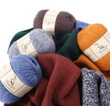 TEHETE 200g Merino Wool Yarn for Knitting 3-Ply Soft Crochet Yarn(China)