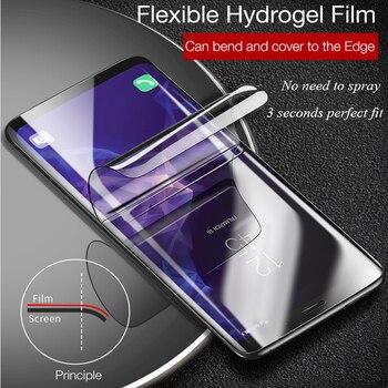 Перейти на Алиэкспресс и купить Для Sony Xperia 5 8 10 Plus L3 L4 Ace 1 II 10II PRO Гидрогелевая пленка защитная пленка не закаленное стекло