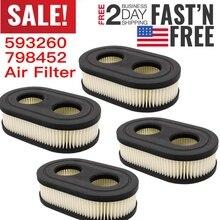 Практичный воздушный фильтр для газонокосилки, Сменные аксессуары для картриджа для 798452 593260