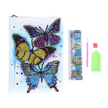 Majsterkowanie malowanie diamentowe notatniki pamiętnik diamentowa szkicownik haft sprzedaż A5 malowanie prezent świąteczne prezenty tanie i dobre opinie TEN-WIN DIY Notebooks