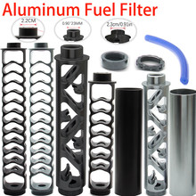 1/2-20 1/2-28 5/8-24 6inch-small 6inch-big 10inch Single Core Aluminum Fuel Filter Solvent Trap for NAPA 4003 WIX 24003