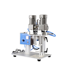цена на Duckbill Bottle Capping Machine Pneumatic Semiautomatic Laundry Liquid Lid Capping Machine Print Head Cover Capping machine