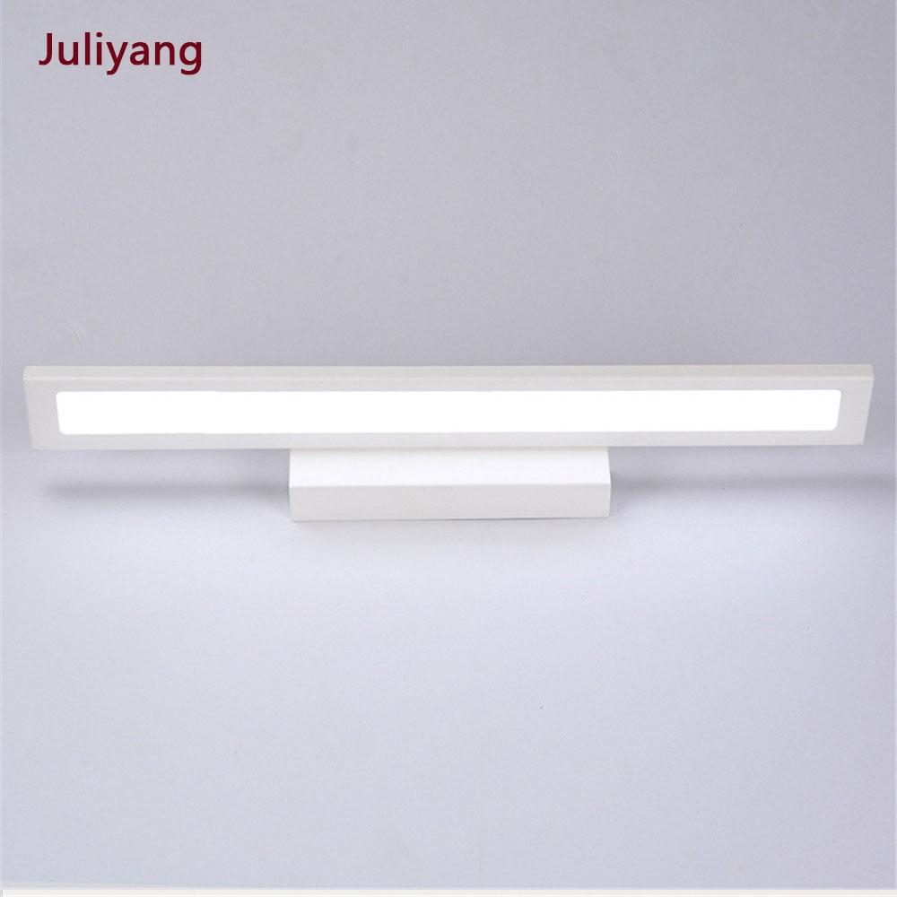 Modern Minimalist LED Wall Lamp Bathroom Mirror Front Wall Sconce 5W 8W 11W Mirror Cabinet Light AC85-265V