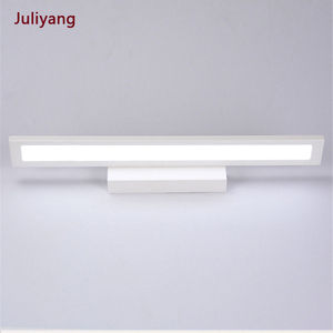 Image 1 - Nowoczesna minimalistyczna lampa ścienna LED lustro łazienkowe kinkiet ścienny 5W 8W 11W szafka z lustrem light AC85 265V